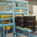Automatisering vaten deksel machine